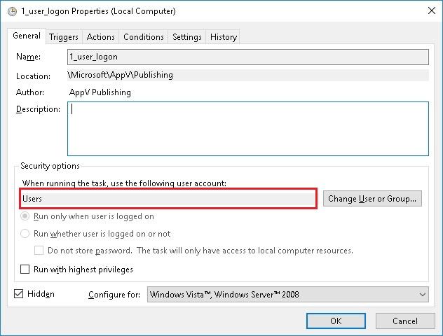 FSLogix - App-V Refresh failure when using FSLogix Profile